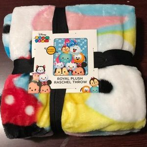 Other - Tsum Tsum Plush Throw Blanket